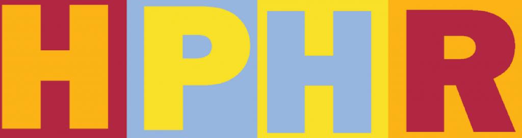 HPHR logo - horizontal